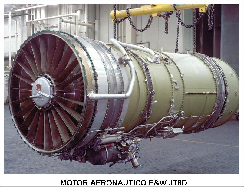 util control tuberias aeronautica motor aeronautico P&W JT8D