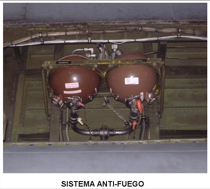util control tuberias aeronautica sistema antifuego