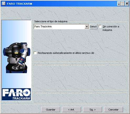 imagen de un láser tracker metrolog XG10