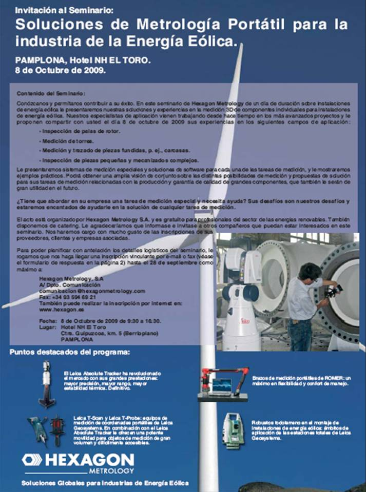 hexagon metrologia sector eolico