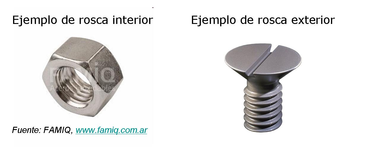 ejemplos de roscas